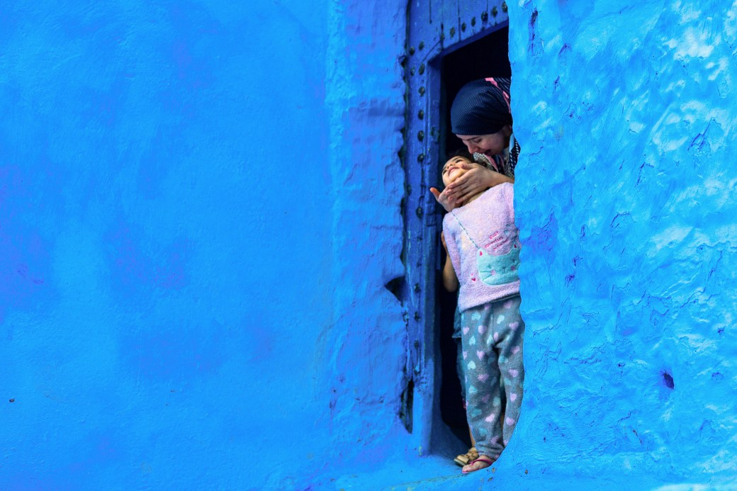 The Vibrant Blue Hues of Morocco's Chefchaouen Village Captured in Photographs by Tiago & Tania 1