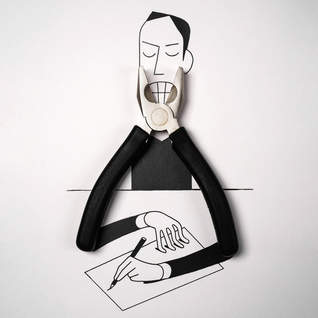 Quirky Illustrations by Christoph Niemann Reinterpret Household Objects in Clever Contexts