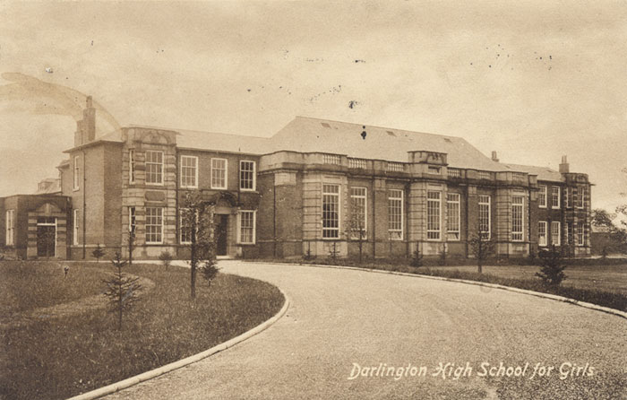 High School For Girls Cleveland Ave 1913 This Is Darlington