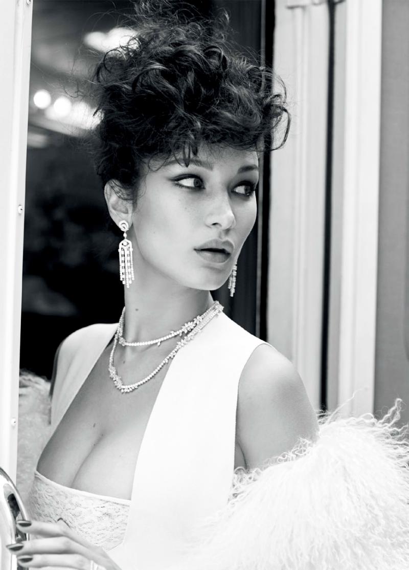 Bella Hadid by Sebastian Faena for Vogue Turkey May 2016