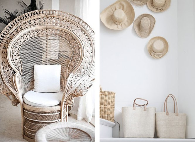 Rattan Ceiling Light Home Decor Trend White Orchid Furniture