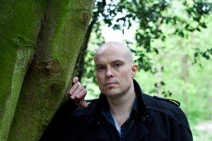 Adam Nevill in the woods