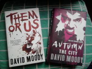Autumn and Them Or Us by David Moody