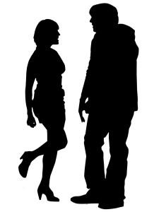 Hooker silhouette