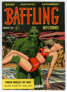 Baffling Mysteries Comic