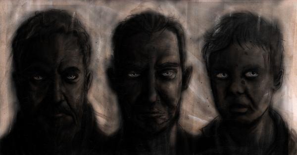 Three Generations Illustration