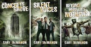 Concrete Grove trilogy by Gary McMahon