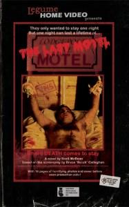 The Last Motel by Bretty McBean