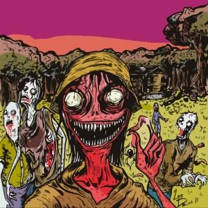 Gross Crimson Cutout by Lee Davis