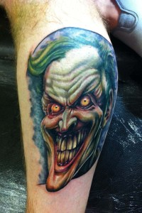 Horror tattoo by Paul Johnson