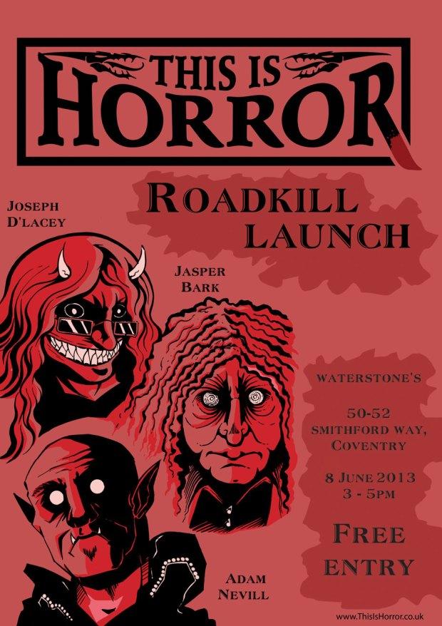 Joseph D'Lacey Roadkill Launch