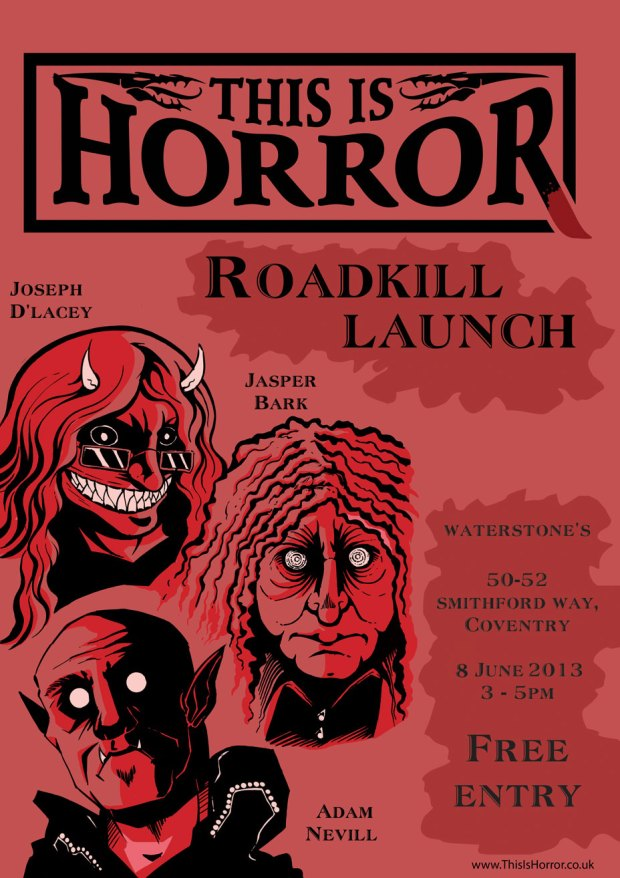 Joseph D'Lacey Roadkill Launch