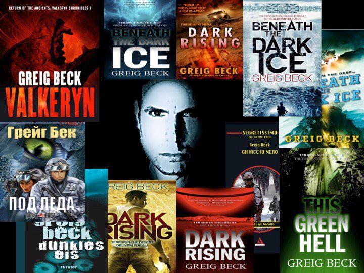Greig Beck books