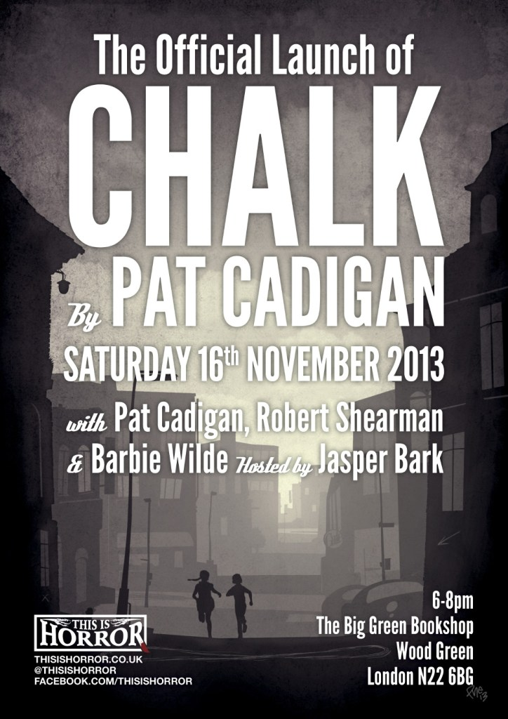 The Official Launch of Chalk by Pat Cadigan
