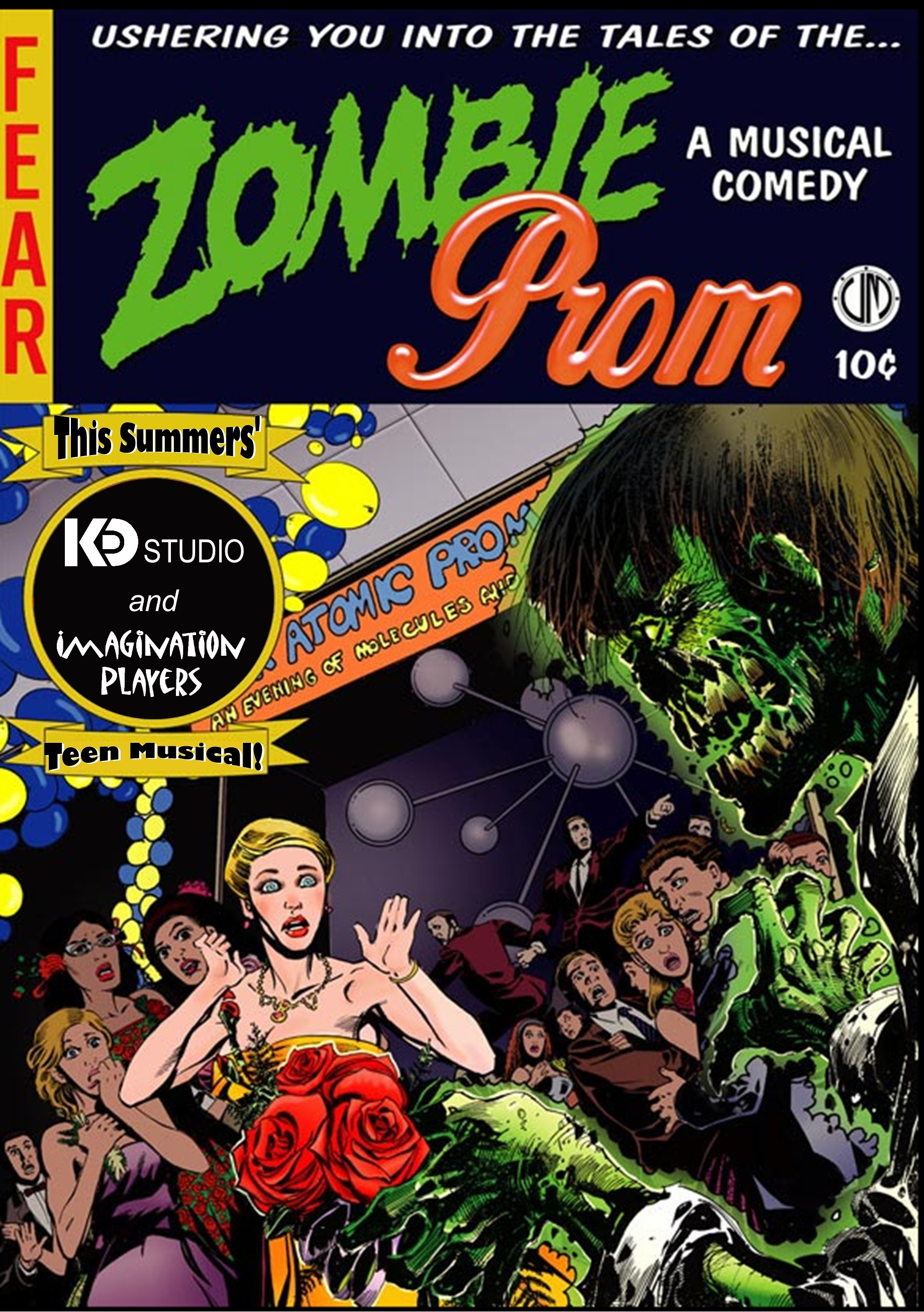 The Musicals And Films Of The 1950s, Zombie Prom Tells The Story Of A  Forbidden How