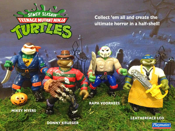 Teenage Mutant Ninja Turtles slashers