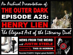 TODA25-Henry Lien The Elegant Art of the Literary Duel