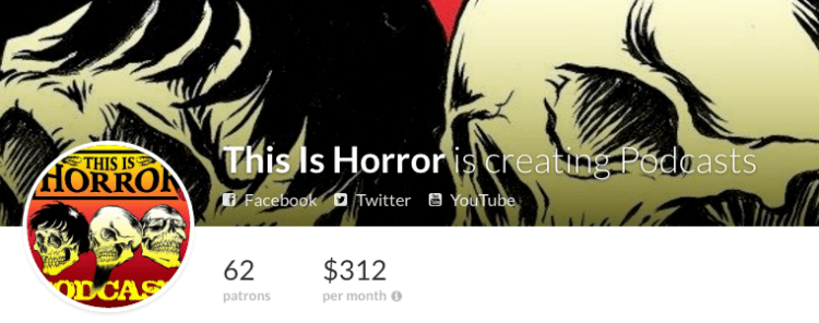 This Is Horror on Patreon
