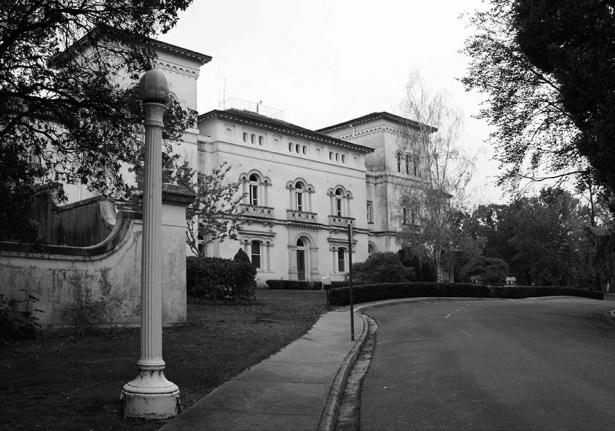 Alone in the Haunted Asylum - Exterior