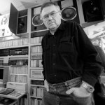 Beksiński in studio