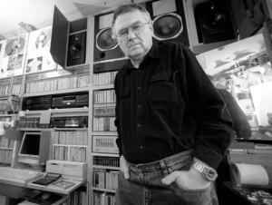 Beksiński in studio