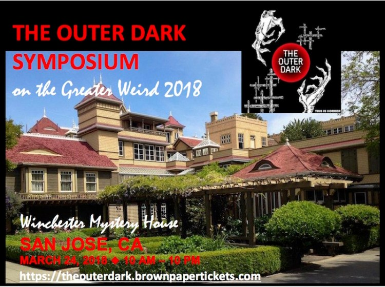 Outer Dark Symposium 2018 poster