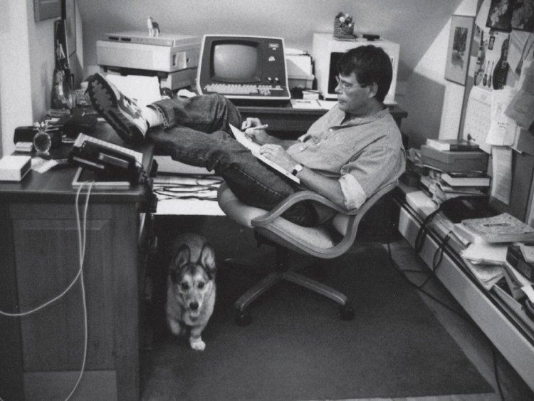 Stephen King's desk