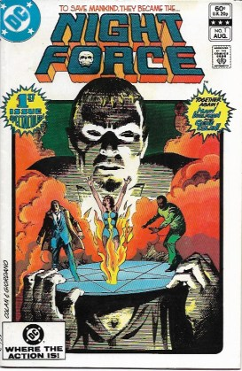 Night Force 1 - cover