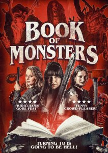 Book of Monsters UK Poster