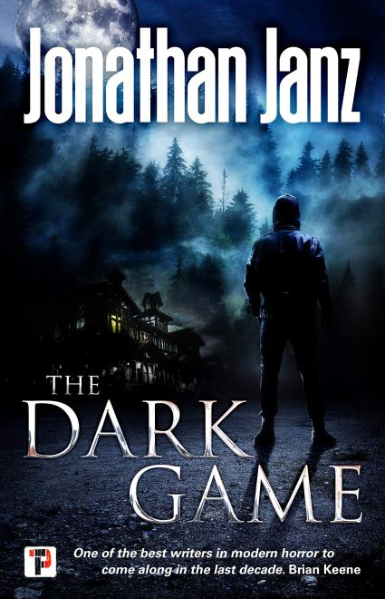 The Dark Game by Jonathan Janz - cover