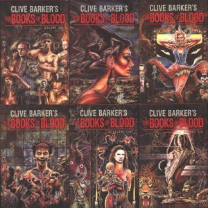 Barker's Books of Blood Covers