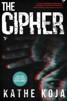 The Cipher by Kathe Koja - cover