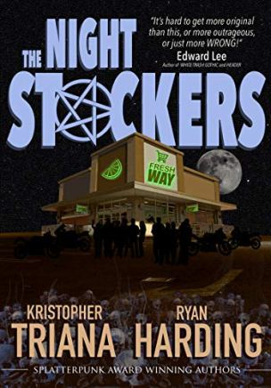 The Night Stockers by Kristopher Triana and Ryan Harding - cover