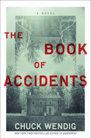 The Book of Accidents by Chuck Wendig - cover