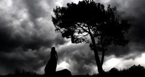 -silhouette-dark-landscape-night-nature-woman-sky-