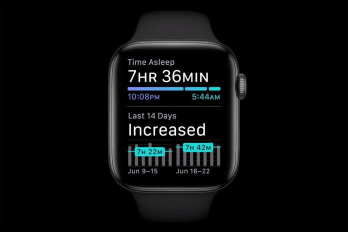 watchOS 7 at Apple WWDC 2020