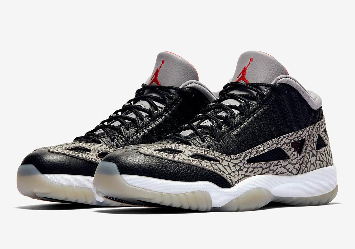 Air Jordan 11 IE Black Cement official