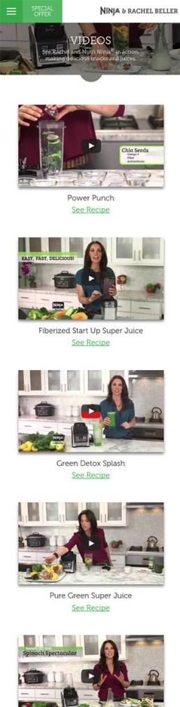 Rachel Beller Video Page