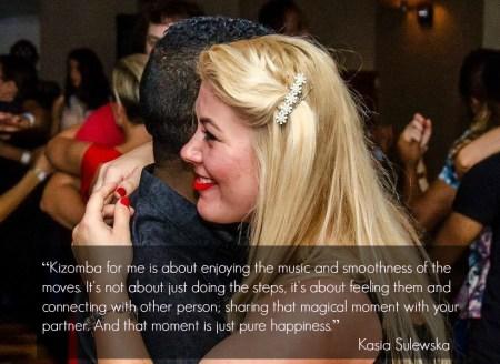 Kizomba is pure happiness