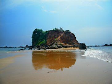 La spiaggia di Mirissa