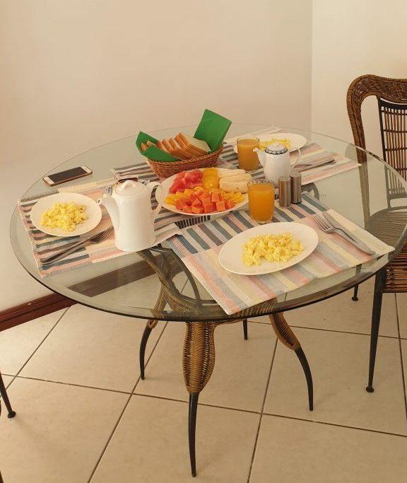 La colazione dell'Ocean Jewels Guest House