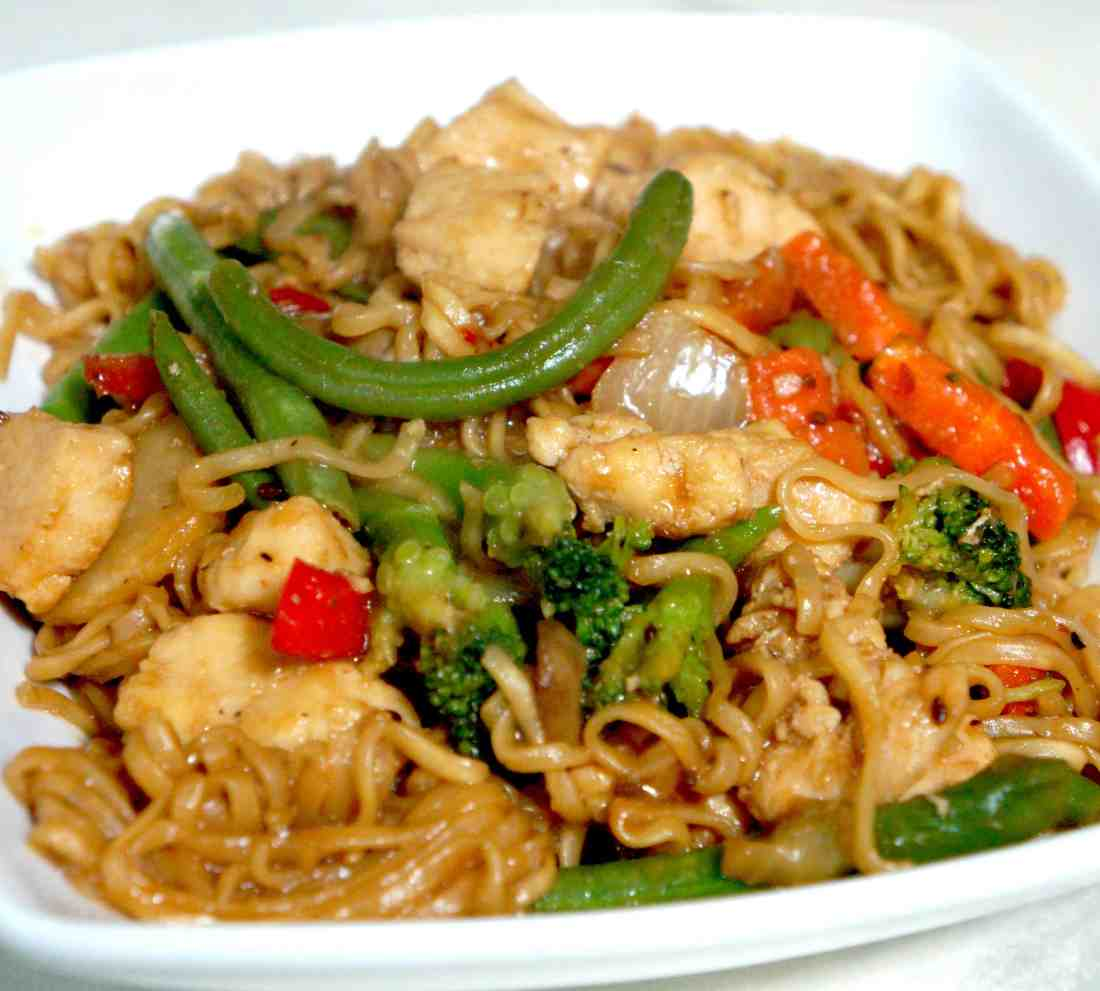 Chinese take out style chicken ramen this is not diet food this dish is super delicious and a great alternative to ordering take out forumfinder Image collections
