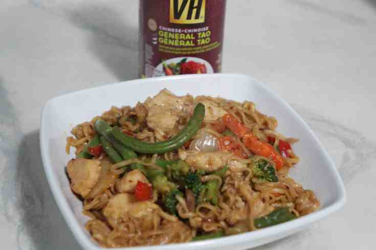 Chinese Take-Out Style Chicken & Ramen