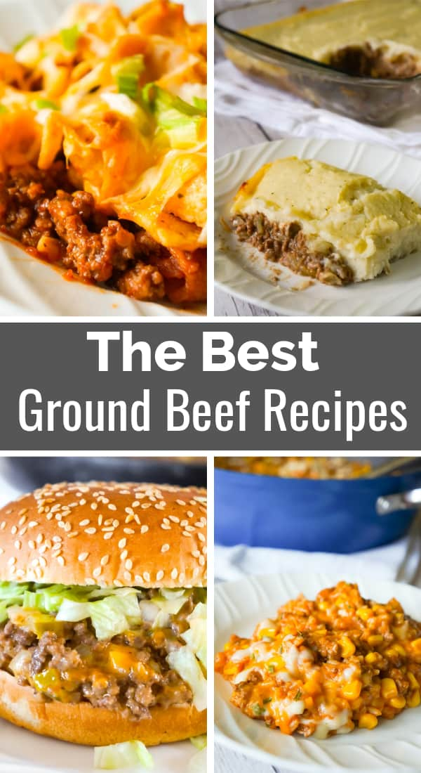 The Best Ground Beef Recipes | Easy Ground Beef Recipes | Easy Dinner Recipes | Frito Pie | Big Mac Sloppy Joes | Ground Beef and Rice | Shepherd's Pie | Ground Beef Casseroles