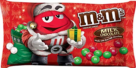 M&M's Milk Chocolate Candies for The Holidays, 11.4 Ounce