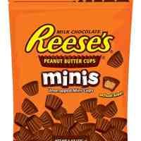 REESE'S Peanut Butter Cup Minis, Chocolate Candy, 8 Ounce