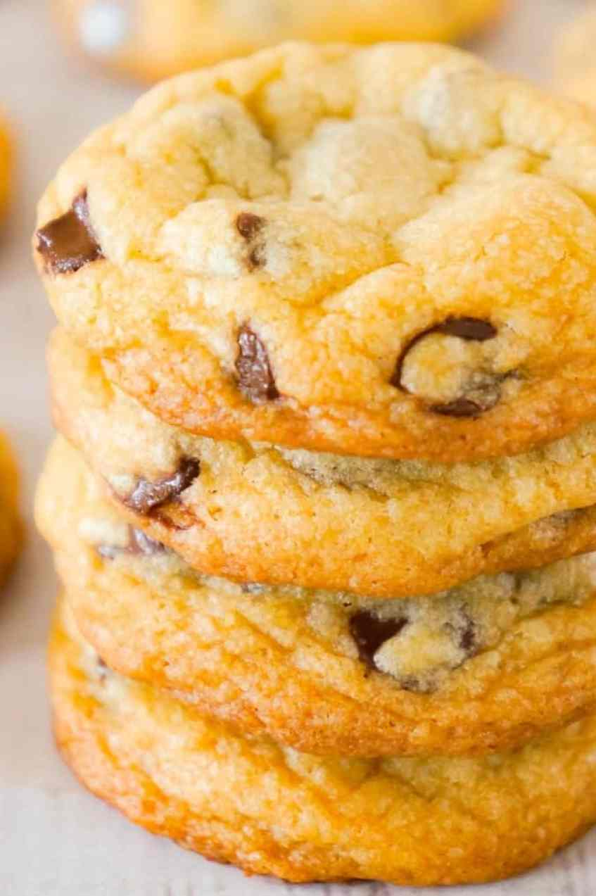 Chocolate Chip Cookies with Crisco is an easy homemade chocolate chip cookie recipe using golden Crisco and loaded with semi-sweet chocolate chips.
