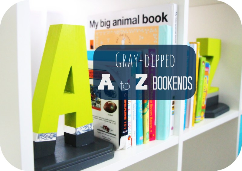A to Z Bookends