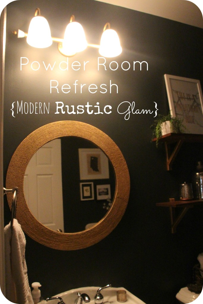 Powder Room Refresh Reveal