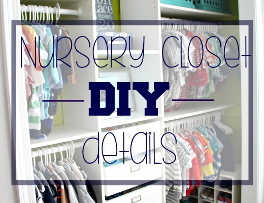 Baby Boy Nursery Closet DIY Details | How to DIY a Custom Nursery Closet | This is our Bliss | www.thisisourbliss.com